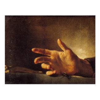 Study of a Hand Postcard