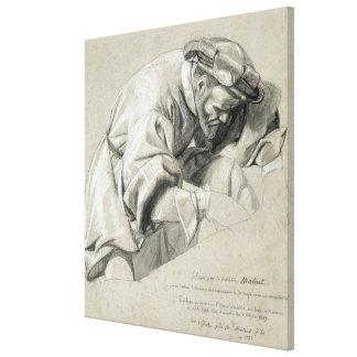 Study of Ambroise Pare Canvas Print