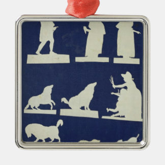 Study of Figures and Animals Christmas Tree Ornament