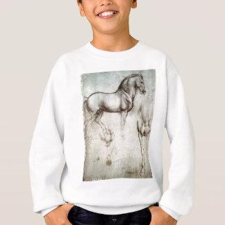Study of horse. sweatshirt