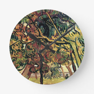 Study of Pine Trees Vincent van Gogh Wallclocks