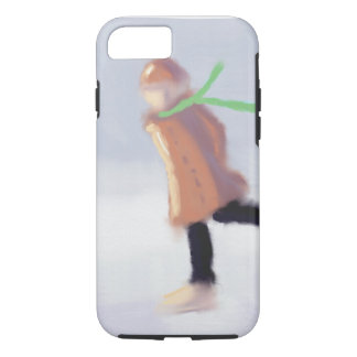 Study of Skater Art iPhone 7 Case