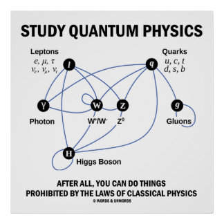 Study Quantum Physics After All You Can Do Things Poster