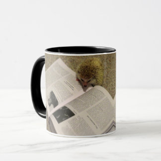 Studying Hedgehog Mug