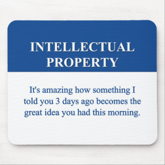 Studying Intellectual Property Law (2) Mouse Pad