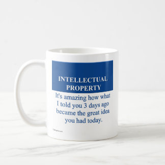 Studying Intellectual Property Law (3) Basic White Mug