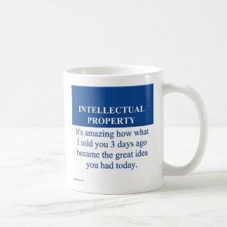 Studying Intellectual Property Law 3 Coffee Mug