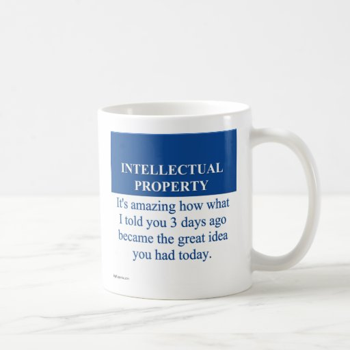 Studying Intellectual Property Law (3) Coffee Mug