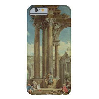 Studying Perspective among Roman Ruins Barely There iPhone 6 Case