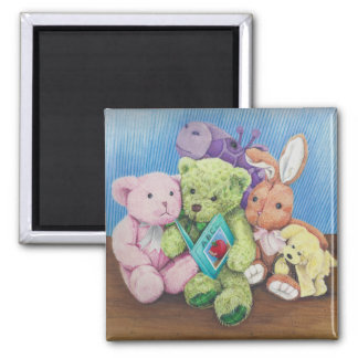 Stuff Animal Circle Time ABC Print on magnet