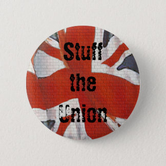 Stuff the Union Scottish Independence Button Badge