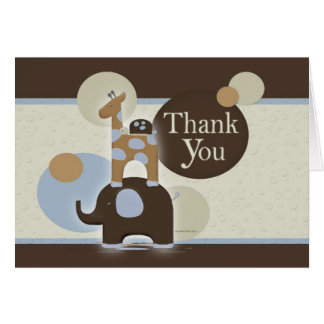 Stuffed Animal Thank You Notes