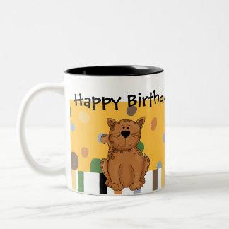 Stuffed Animals Kitty Cat Kids Birthday Mug