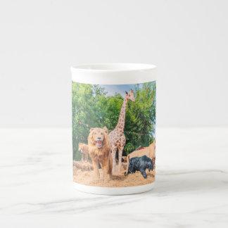 Stuffed animals tea cup