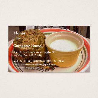 Stuffed Artichoke Business Card