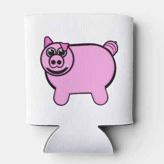 Stuffed Pig Can Cooler