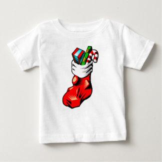 Stuffed Stocking Baby T-Shirt