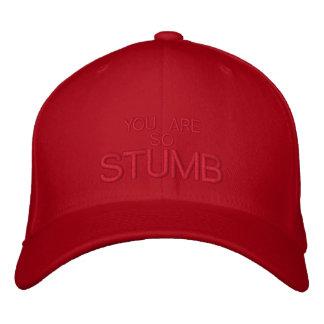 STUMB - CUSTOMIZABLE CAP by eZaZZleMan Embroidered Hat