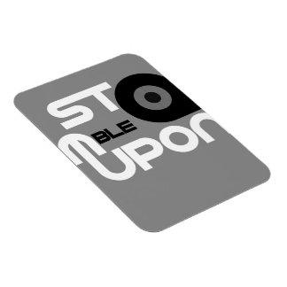 StumbleUpon Rectangular Photo Magnet