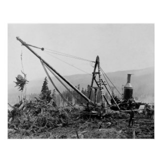 Stump Pump 1913 Print