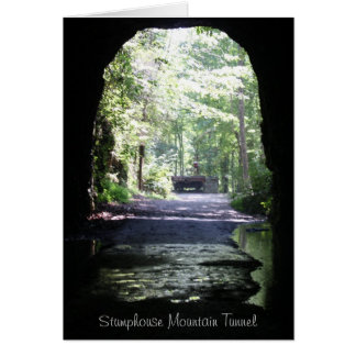 Stumphouse Mountain Tunnel Card
