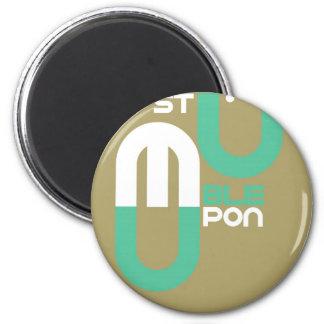 Stumpleupon 6 Cm Round Magnet