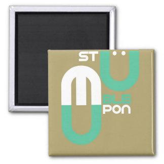 Stumpleupon Square Magnet