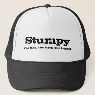 Stumpy, The Man, The Myth, The Legend. Trucker Hat