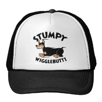 Stumpy Wigglebutt! Mesh Hat