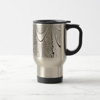 Stunning art. stainless steel travel mug