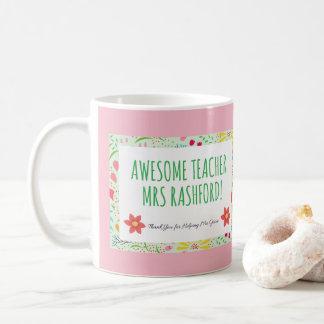 Stunning Awesome Teacher Personalised Mug