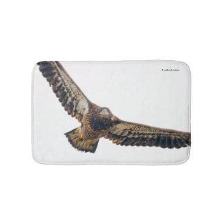 Stunning Bald Eagle Does a Flyover Bath Mat