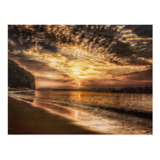 Stunning Beach Sunrise Postcard