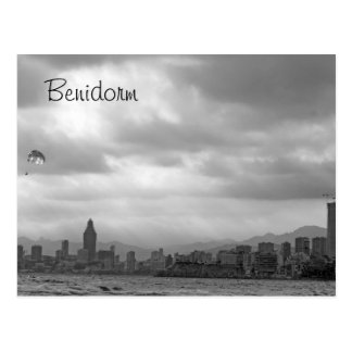 stunning benidorm post card