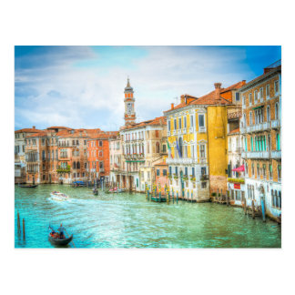 Stunning Canal Grande Venice Photo gifts, picture Postcard