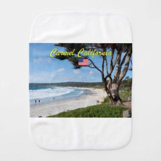 Stunning! CARMEL CALIFORNIA USA Burp Cloth