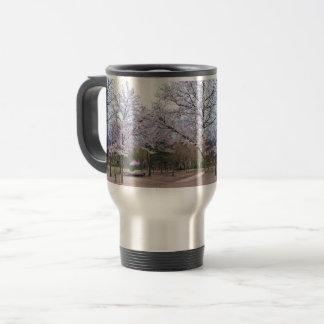🌸↷Stunning Cherry Blossom Tree iPad Air Case↶🌸 Travel Mug
