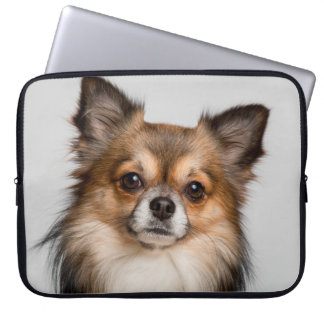 Stunning chihuahua portrait laptop sleeve