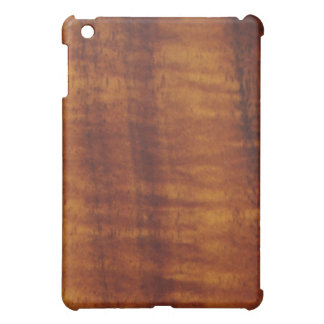 Stunning Curly Hawaiian Koa Longboard Style Cover For The iPad Mini