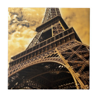 Stunning Eiffel Tower Small Square Tile