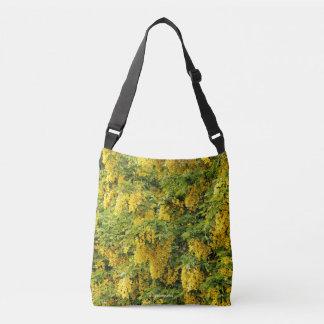 Stunning Golden Chain / Laburnum Tree Crossbody Bag