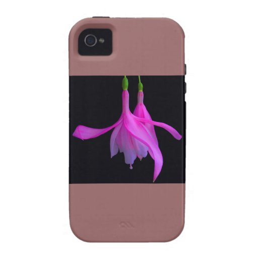 Stunning in Pink Floral Design iPhone 4 Case