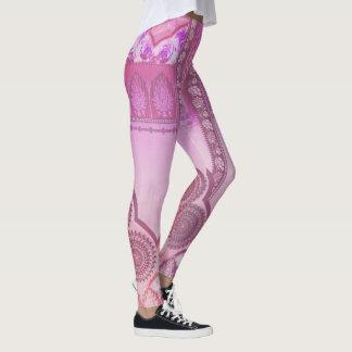 Stunning in pink leggings