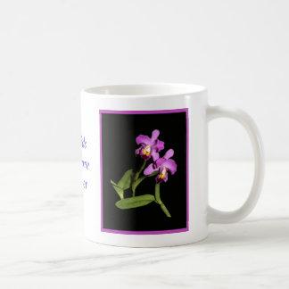 Stunning Magenta Cattleya Orchid Mug