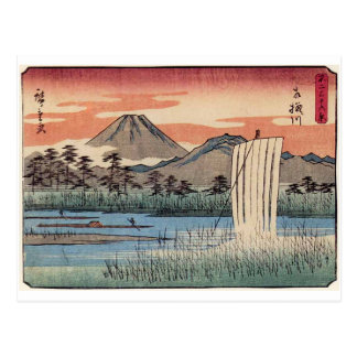 Stunning Mt. Fuji in Japan circa 1800s Postcard