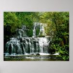 Stunning New Zealand Waterfall Posters