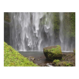 Stunning Oregon Waterfall Postcard