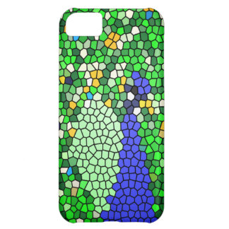 Stunning Peacock mosaic art gifts customised iPhone 5C Case
