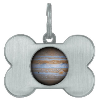 Stunning Photo of the Planet Jupiter Pet Tag