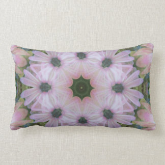 Stunning Pink Daisy Mandala Throw Pillow